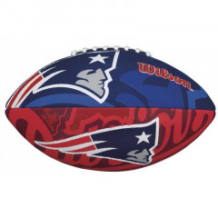 Мяч для американского футбола Wilson NFL Team Logo Blue