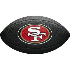 Мини-мяч для американского футбола Wilson NFL Team Logo Mini (для детей до 10 лет)