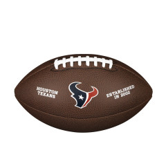 Мяч для американского футбола Wilson NFL Houston Texans (размер 5)