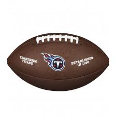 Мяч для американского футбола Wilson NFL Tennesse Titans (размер 5)