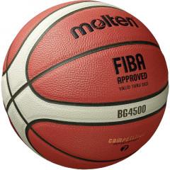 Баскетбольный мяч Molten BG4500 (Топовый официальный мяч FIBA, следующий за GG7x)