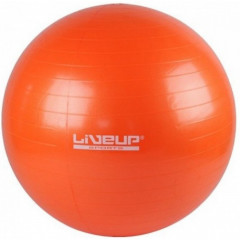 Мяч для фитнеса LiveUp Gym Ball оранж - 55 см.