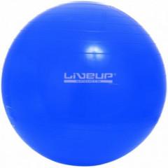 М'яч для фітнесу LiveUp Gym Ball синій - 65 см.