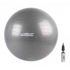 М'яч для фітнесу LiveUp Anti-Burst Ball - 75 см. з насосом
