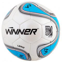Мяч для футбола Winner Lenz FIFA (бело-синий)