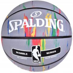Баскетбольный мяч Spalding Marble Grey