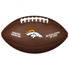 Мяч для американского футбола Wilson NFL Denver Broncos (размер 5)