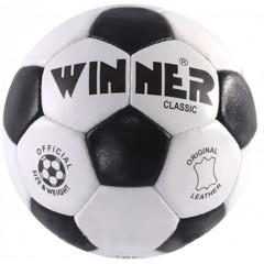 Мяч для футбола Winner Classic (Кожаный мяч)