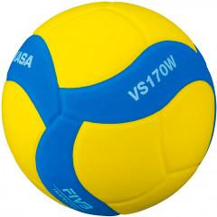 Волейбольный мяч Mikasa VS170W Soft Kids (облегченный до 12 лет)