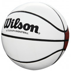 Баскетбольный мяч Wilson AUTOGRAPH Mini (для автографов)
