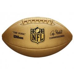 Мяч для американского футбола Wilson Duke Metallic Edition Gold (стандартный размер)