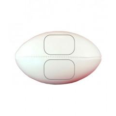 Мяч для регби под нанесение (средний размер)