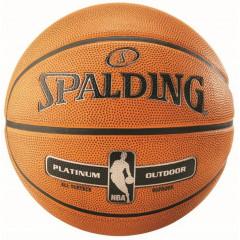 Баскетбольный мяч Spalding NBA Platinum Outdoor